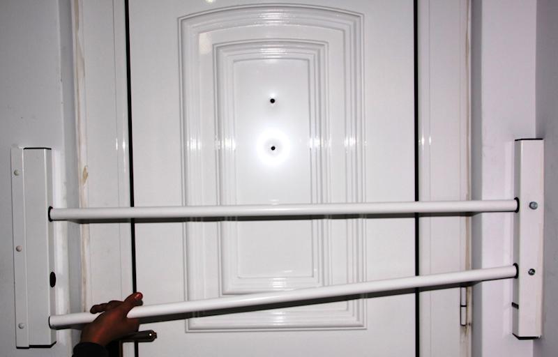 Rejas de seguridad para la entrada principal - Puertas de seguridad para casas ...